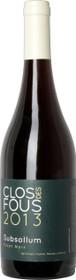 Clos des Fous 2013 Pinot Noir 'Subsollum' 750ml
