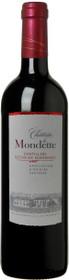 Chateaux la Mondette 2012 Cotes de Bordeaux Castillon 750ml