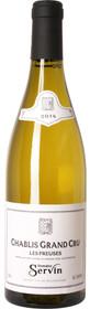 """Domaine Servin 2014 Chablis """"Les Preuses"""" Grand Cru 750ml"""