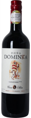 Casa Silva Dona Dominga 2015 Single Vineyard Carmenere 750ml