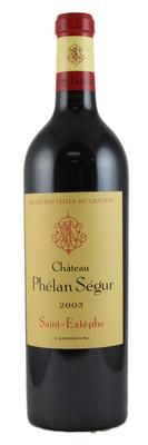 Château Phelan Segur 2003 St. Estephe 1.5L