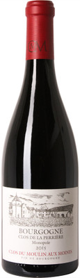 """Clos du Moulin aux Moines 2015 Bourgogne Rouge """"Clos Perriere"""" 750ml"""