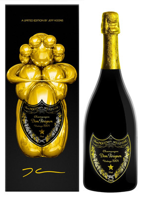 Dom Perignon 2004 Blanc Jeff Koons Special Edition 750ml