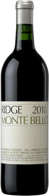 Ridge 2010/2013 Monte Bello 750ml