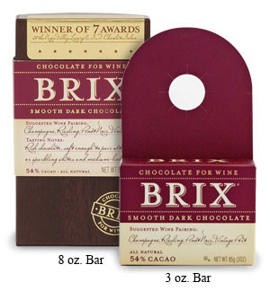 Brix Smooth Dark Chocolate 3oz