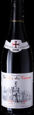 """Domaine le Clos des Cazaux 2012 Vacqueyras """"Cuvee des Templier"""" 750ml"""