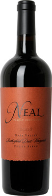 Neal Family 2008 Petite Syrah Rutherford Dust Vineyard