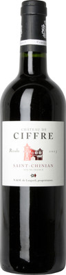 Chateau de Ciffre 2013 Saint Chinian