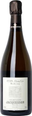 "Champagne Jacquesson 2004 Avize ""Champ Cain"" bottle"