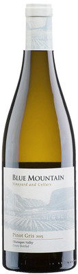 Blue Mountain 2016 Pinot Gris 750ml