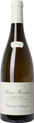 """Domaine Etienne Sauzet 2013 Puligny Montrachet """"Champs Canet"""" 1er Cru 750ml"""