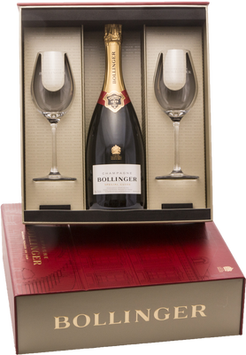 Bollinger Gift Box with Grand Annee Rose 2005