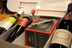 Veneto Package with 2 glasses & corkscrew (open)