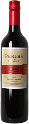 Pampas del Sur 2016 Shiraz Malbec 750ml