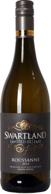Swartland 2015 Limited Release Roussanne 750ml