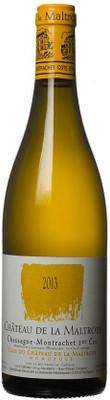 """Maltroye 2013 Chassagne Montrachet """"Clos du Chateau"""" 1er Cru Blanc 750ml"""
