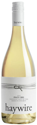 Haywire 2016 White Label Pinot Gris 750ml