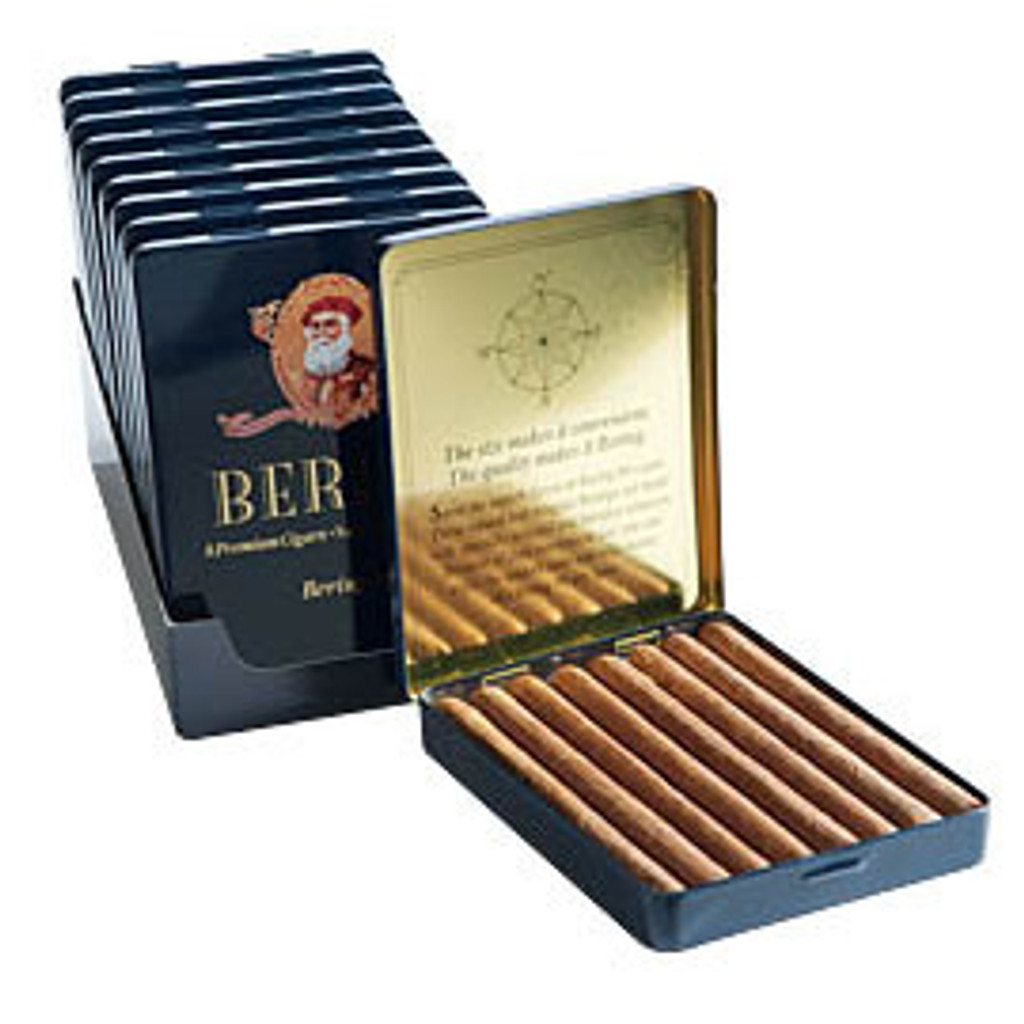 Bering Eights Cigars - 4 1/4 x 24 (10 Tins of 8)