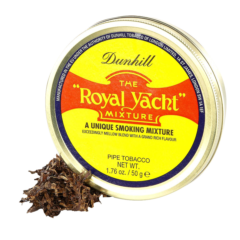 Dunhill Royal Yacht Pipe Tobacco | 1.75 OZ TIN  sc 1 st  Top Hat Tobacco & Dunhill Royal Yacht Pipe Tobacco