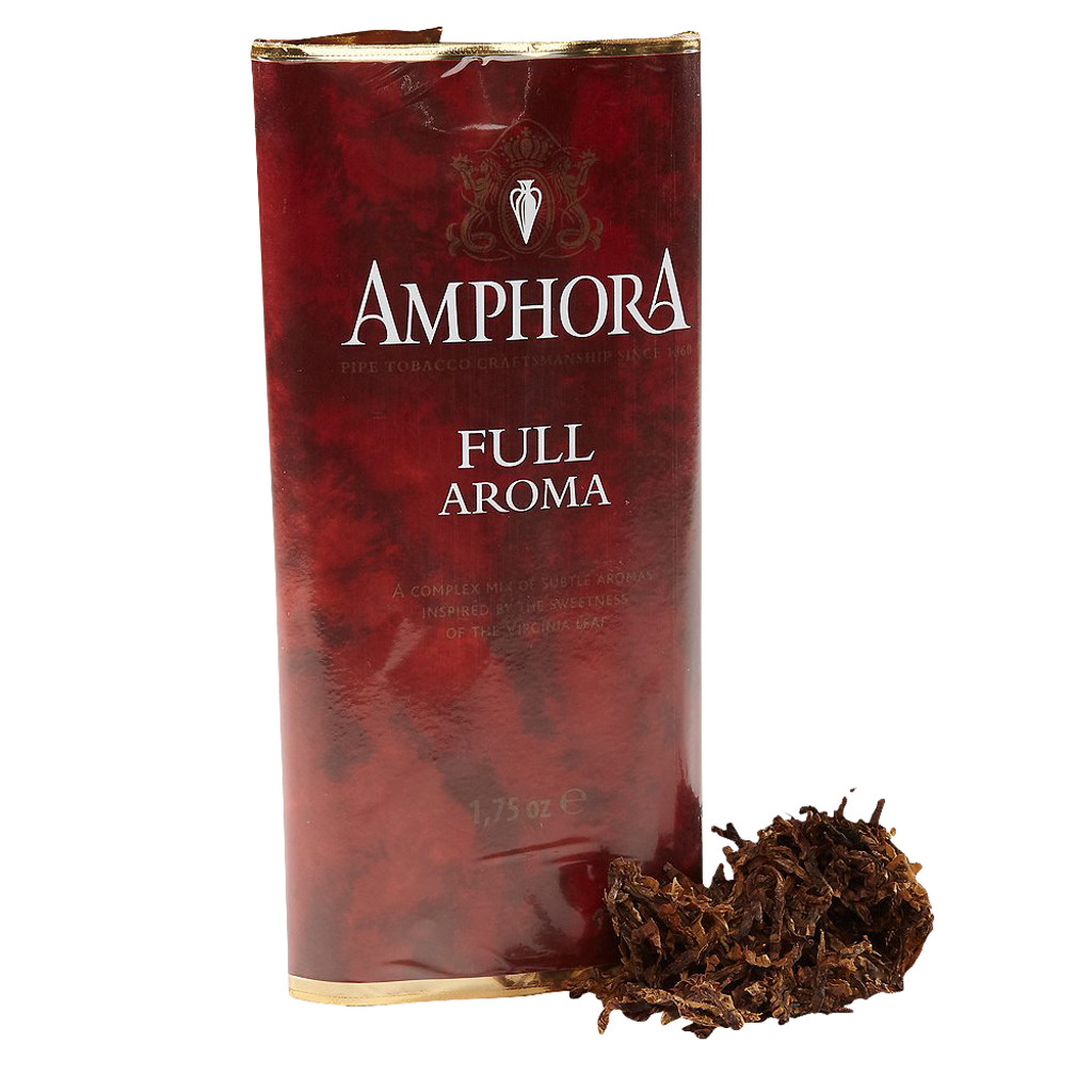 Amphora Full Aroma Pipe Tobacco | 1.75 OZ POUCH  - 5 COUNT