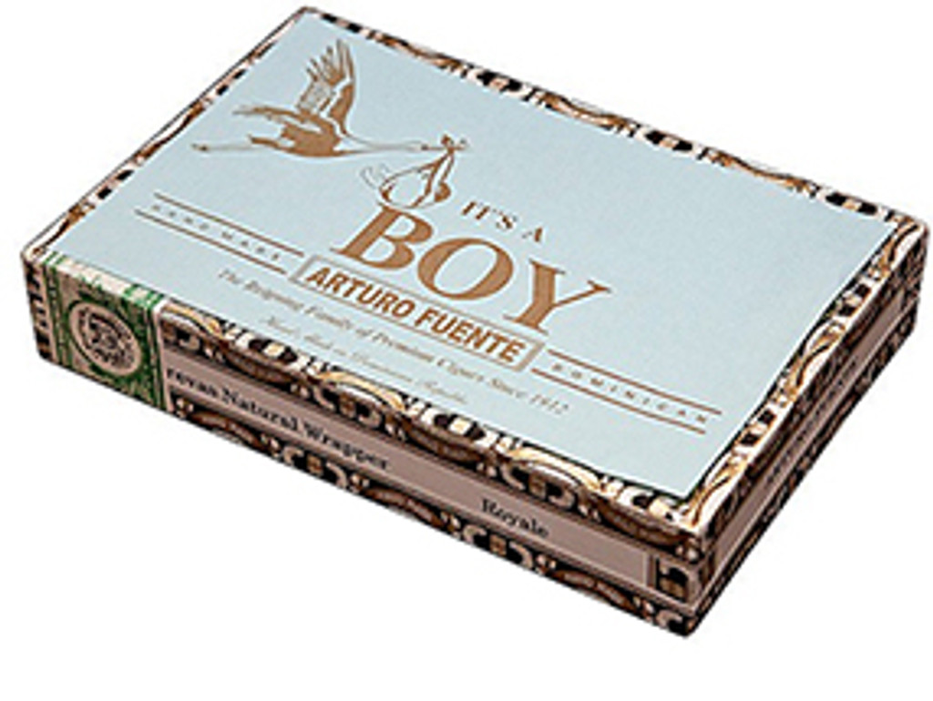 Arturo Fuente Breva It's A Boy Cigars - 5 1/2 x 42 (Box of 25)