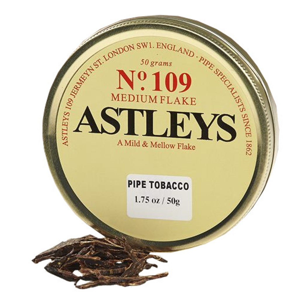 Astleys No. 109 Pipe Tobacco | 1.75 OZ TIN