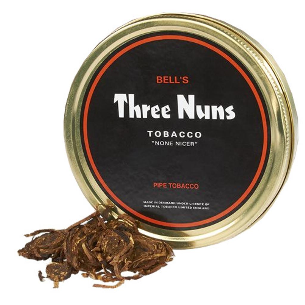Bells 3 Nuns Pipe Tobacco   1.75 OZ TIN