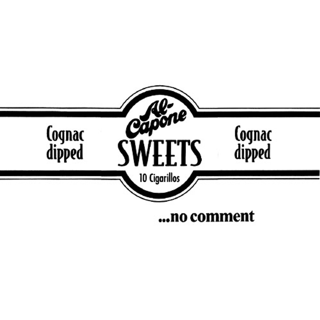 Al Capone Handmade Sweets Cigars - 3.5 x 20 (Box of 20)