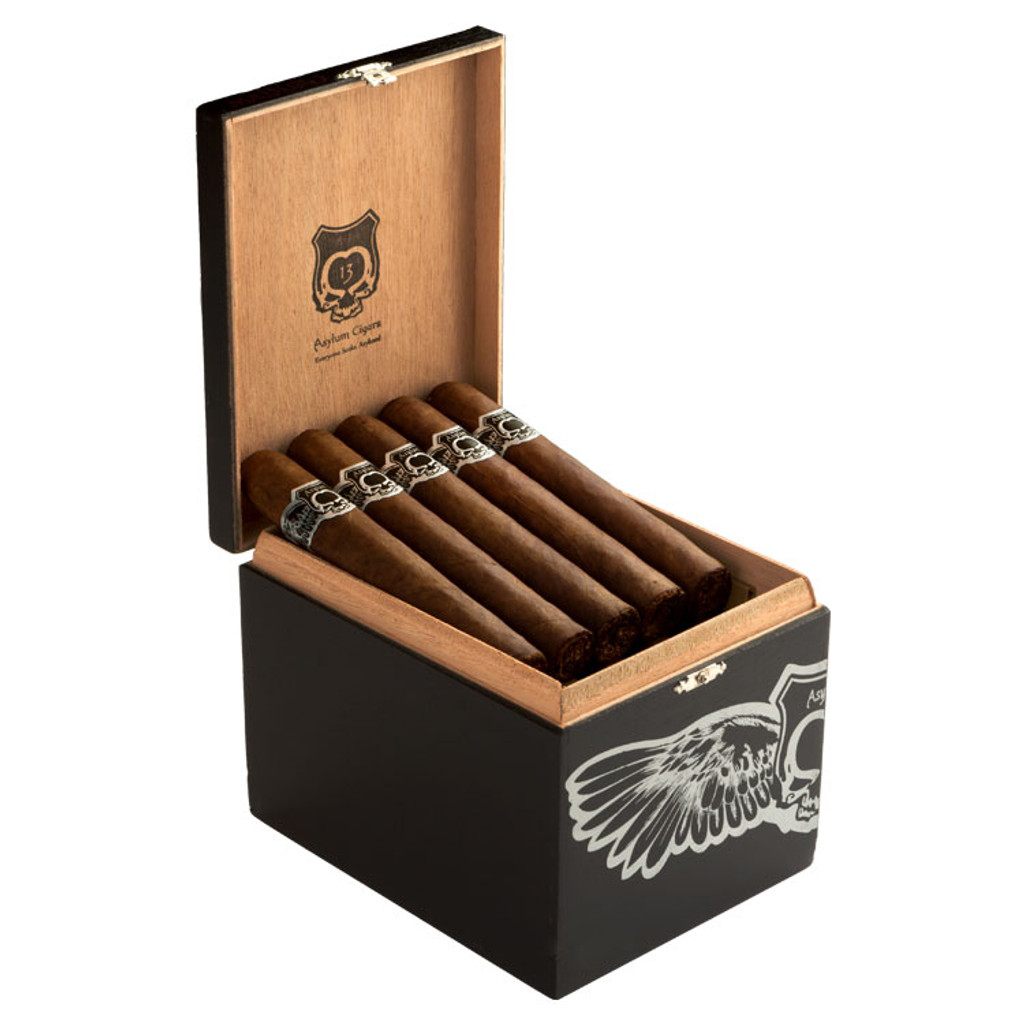 Asylum Nyctophilia 6X60 Cigars - 6 x 60 (Box of 25)