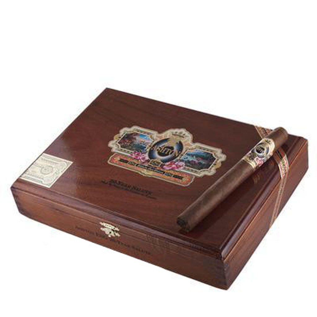 Ashton ESG 20 Year Salute Cigars - 6 3/4 x 49 (Cedar Chest of 25)