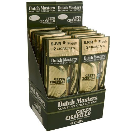 Dutch Masters Cigarillos Green Cigars (20 packs of 3) - Candela