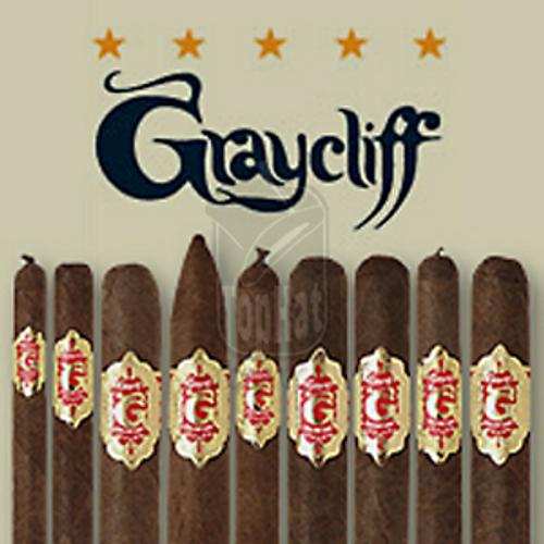 Graycliff Red Elegante Cigars - 7 1/4 x 38 (Box of 25)
