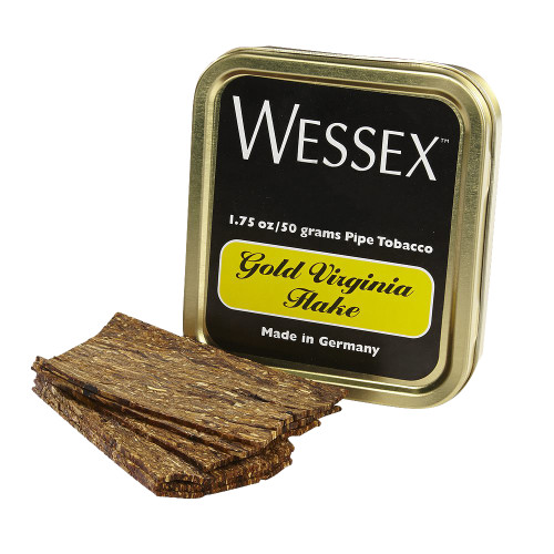 Wessex Gold Virginia Flake Pipe Tobacco   1.75 OZ TIN