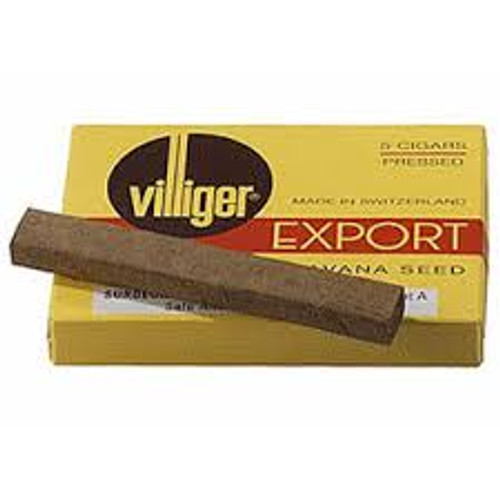 Villiger Export Cigars (10 Packs of 5) - Natural