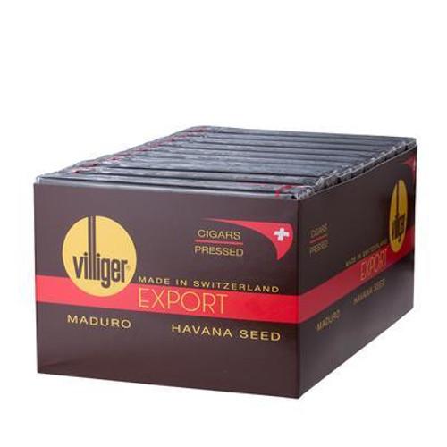Villiger Export Cigars (10 Packs of 5) - Maduro