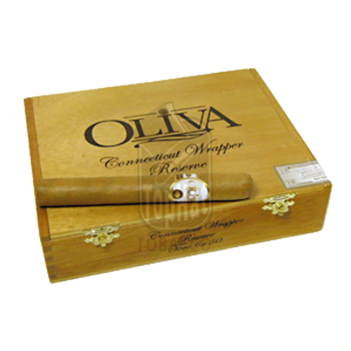 Oliva Connecticut Reserve Toro Cigars - 6 x 50 (Box of 20)