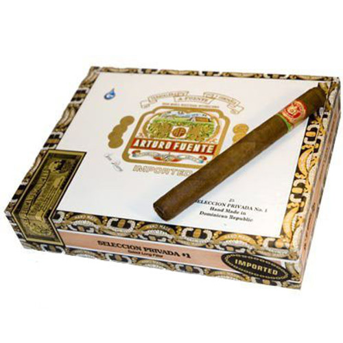 Arturo Fuente Privada No.1 Natural Cigars - 6 3/4 X 44 (Cedar Chest of 25)