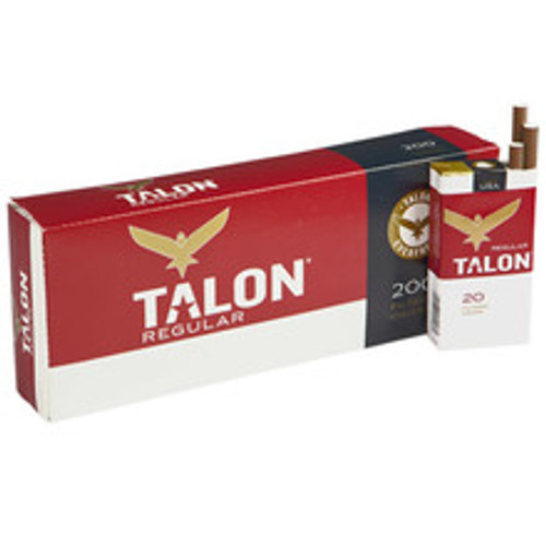 Talon Filtered Regular Cigars (10 Packs of 20) - Natural