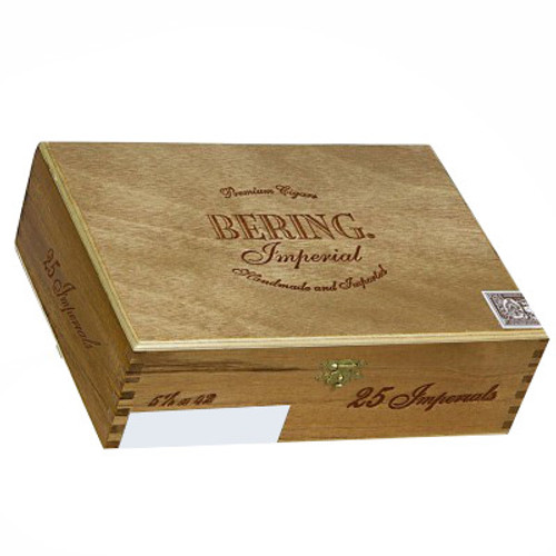 Bering Imperial Cigars -  5 1/4 x 42 (Box of 25 Aluminum Tubes)