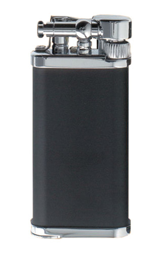 IM Corona Old Boy Black and Chrome Lighter
