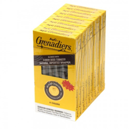Antonio Y Cleopatra Grenadier Cigars (5 Packs Of 6) - EMS