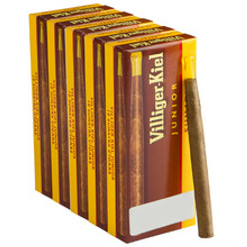 Villiger Kiel Mild Junior Cigars (5 Packs Of 10) - Natural