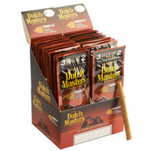 Dutch Masters Cigarillos Cognac X.O Cigars (20 packs of 3) - Natural