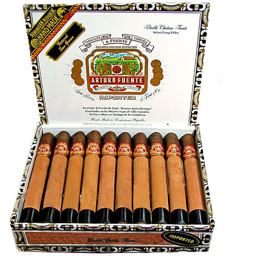 Arturo Fuente Double Chateau Sungrown Cigars - 6 3/4 X 50 (Box of 20)