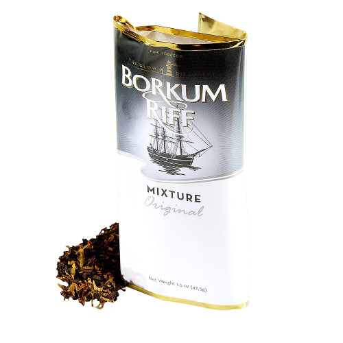 Borkum Riff Original Pipe Tobacco | 1.5 OZ POUCH  - 5 COUNT