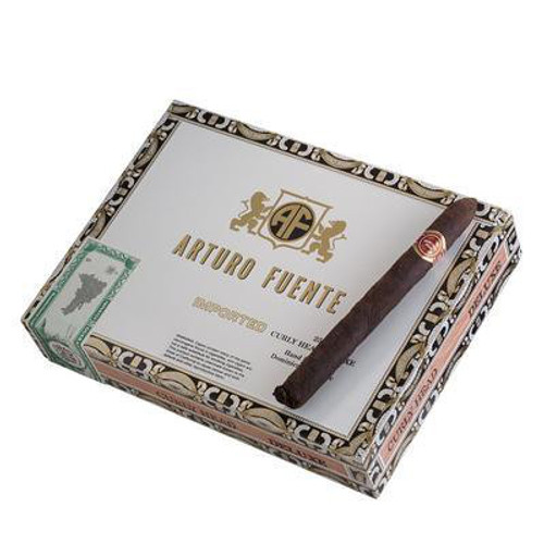 Arturo Fuente Curly Head Deluxe Maduro Cigars - 6 1/2 x 44 (Box of 25)