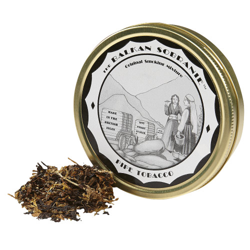 Balkan Sobranie Pipe Tobacco | 1.75 OZ TIN