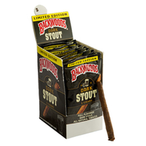 Backwoods Dark Stout Cigars (8 Packs Of 5) - Natural