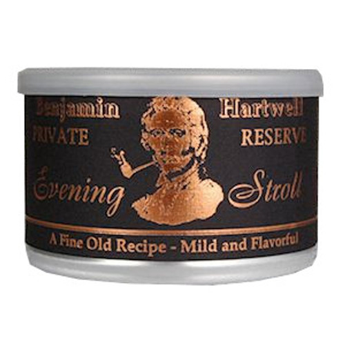 Benjamin Hartwell Evening Stroll Pipe Tobacco | 1.75 OZ TIN