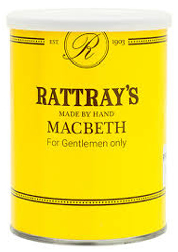 Rattray's Macbeth Pipe Tobacco | 3.5 OZ TIN